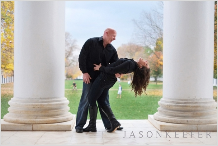 jason keefer photography uva chapel engagement portraits uva lawn 0011 Mike and Isobels Charlottesville Engagement Shoot